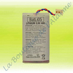 Batterie Lithium Batli05...