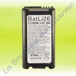 Batterie Lithium Batli26...