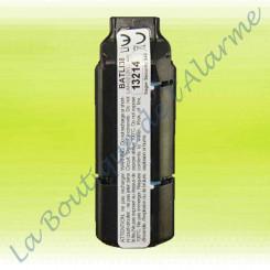 Batterie Batli38 3v 2,4Ah, batterie alarme logisty hager