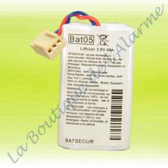 Batterie Lithium Bat05 3,6v...
