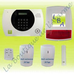 Kit alarme78 LBA-KIT3001T2IRSIR-SA